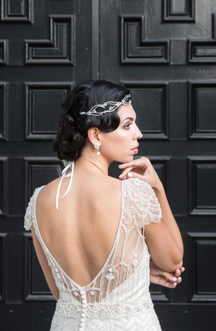 Glamorous Art Deco Inspired Bride