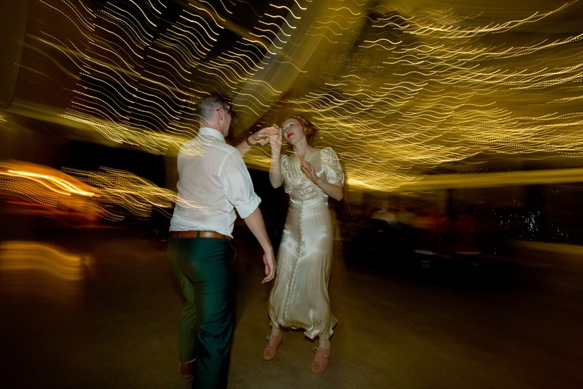 Vintage Wedding Reception Dance Floor