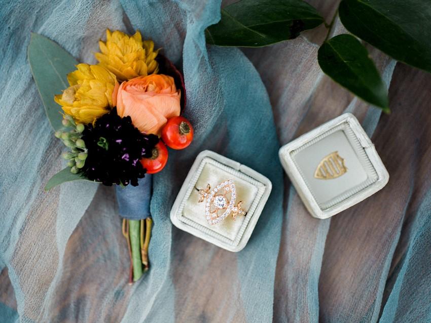 Modern Vintage Engagement Ring