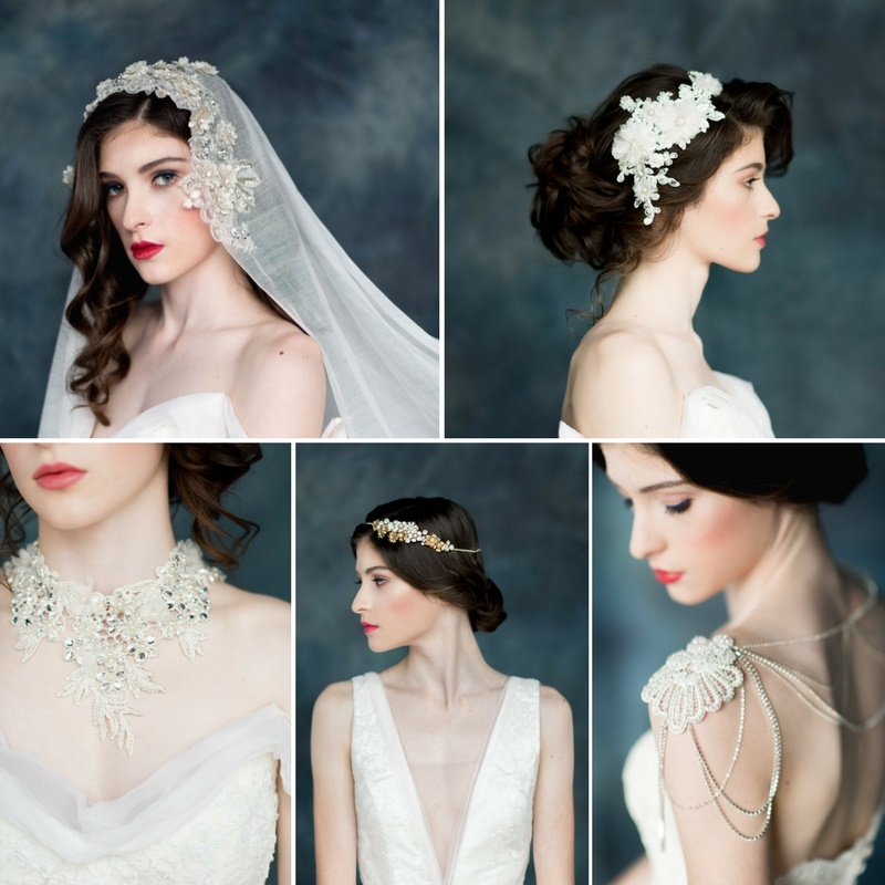 'Celestial Wanderer' - The Breathtaking 2017 Collection of Bridal Adornments by Blair Nadeau