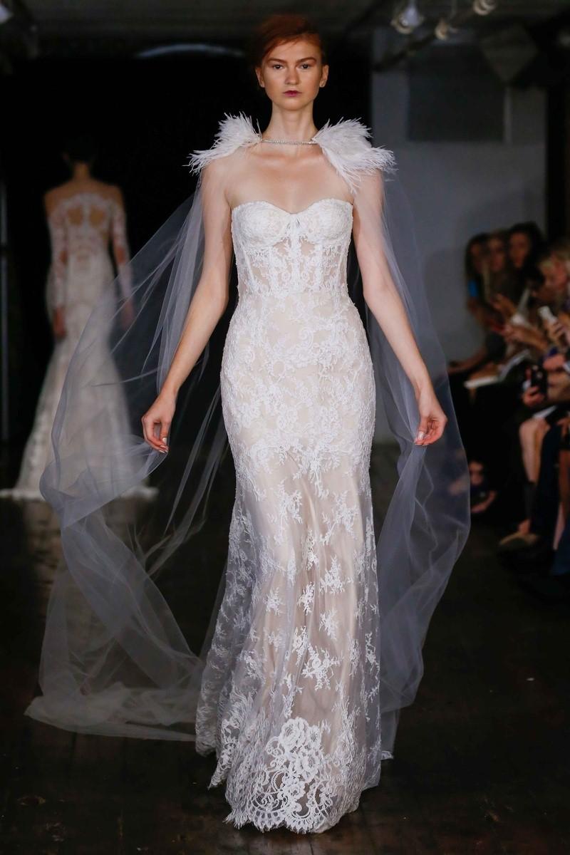 Bustier Bodice Wedding Dress ~ Rivini