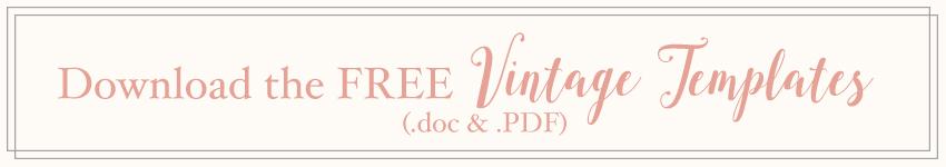 Download Free Wedding Invitation Templates