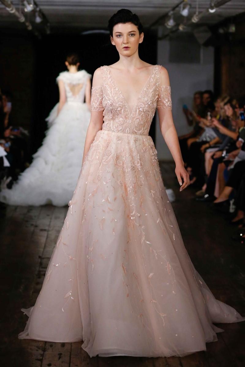 Pastel Hued Wedding Dress ~ 'Kiss' by Rivini