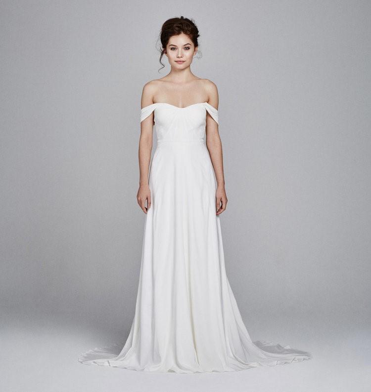 Simple Wedding Dress ~ Kelly Faetani Blossom