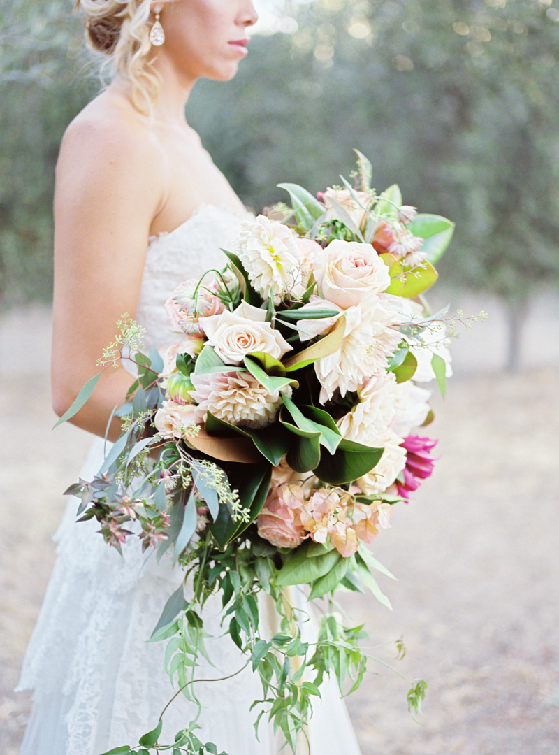 Lush Summer Bridal Bouquet