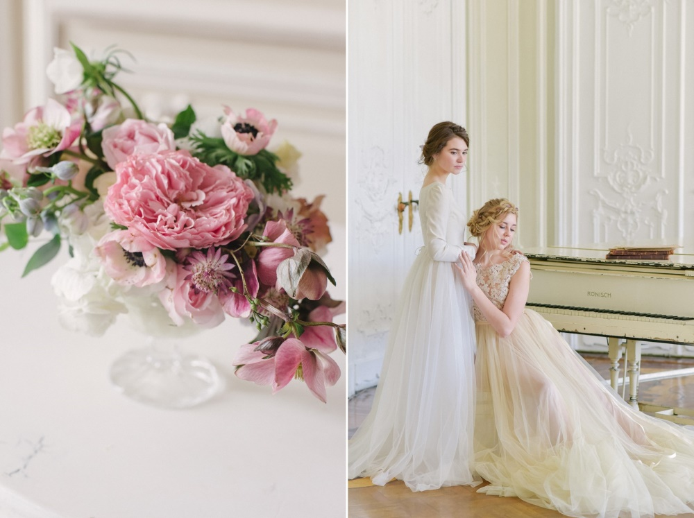 Romantic Vintage Spring Bridal Shoot