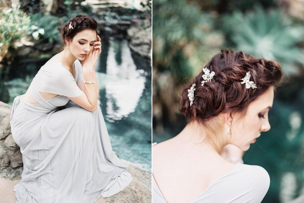 Romantic Vintage Bridal Updo