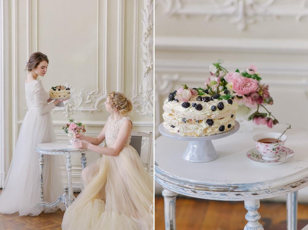 Meringue Wedding Cake