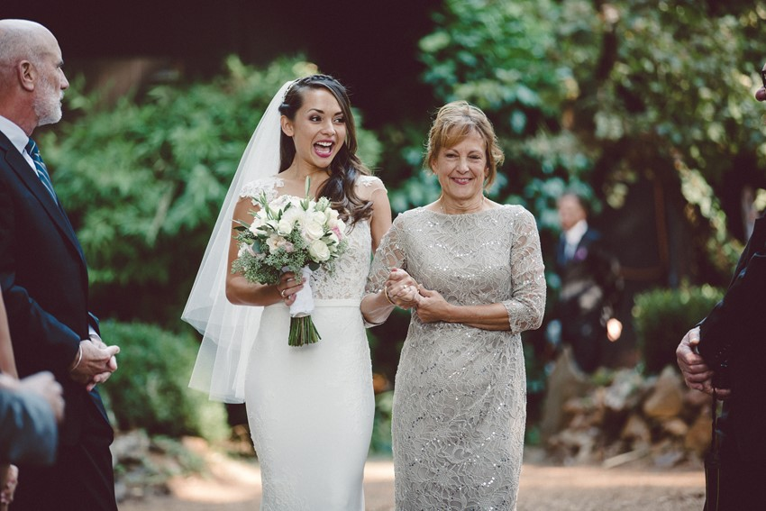 Mother of the Bride Giving the Bride Away