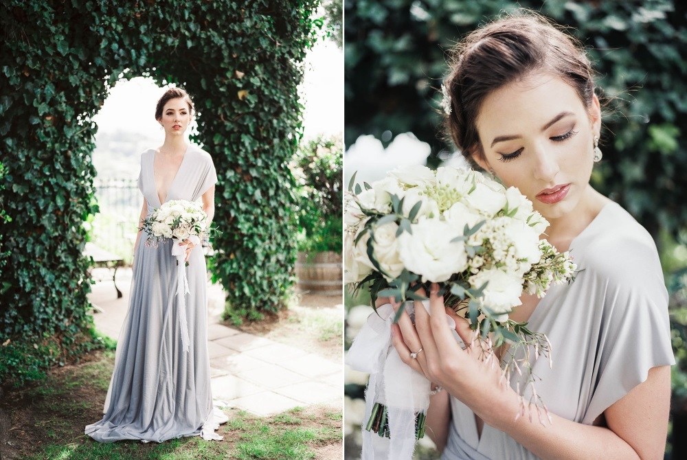 Romantic Old World Bridal Look