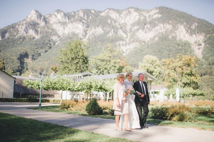 Mountain Wedding Ceremony