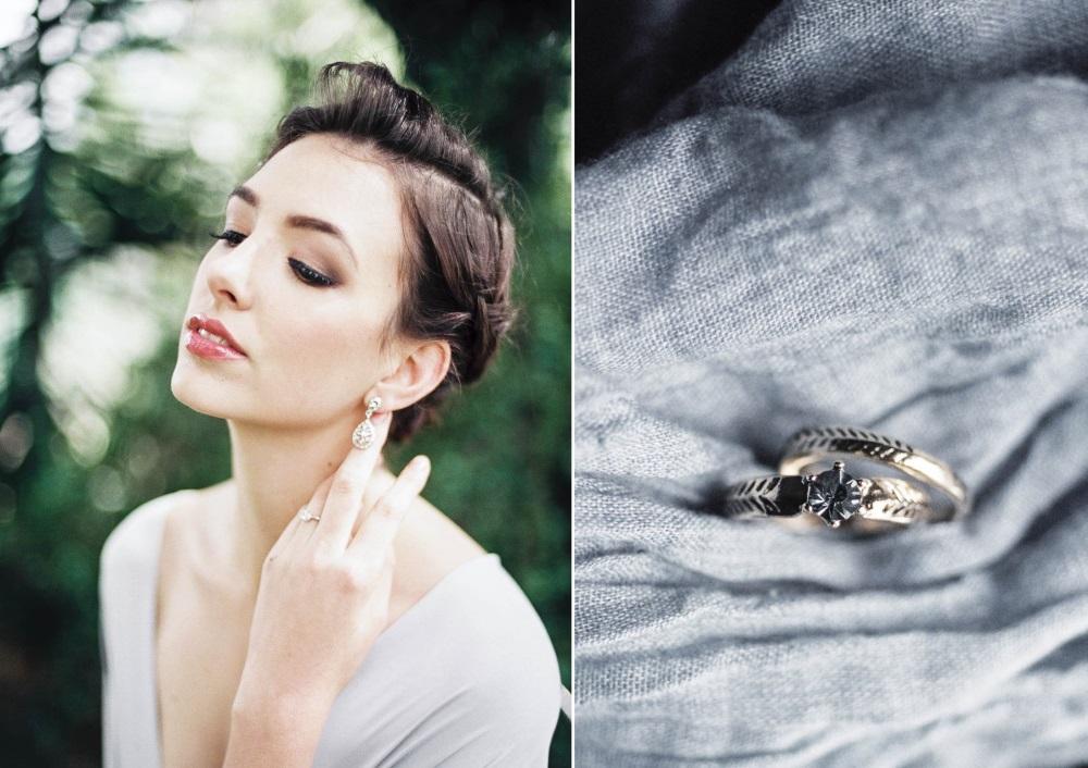 Modern Vintage Bridal Jewelry