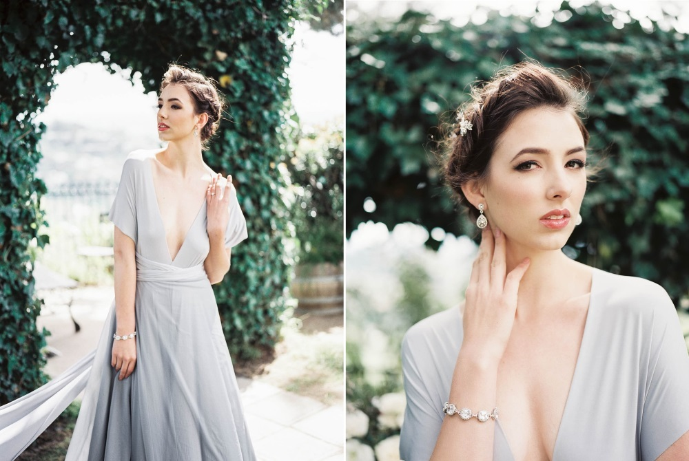 Romantic Old World Bridal Look