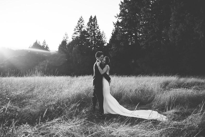 Beautiful Sunset Wedding Photos