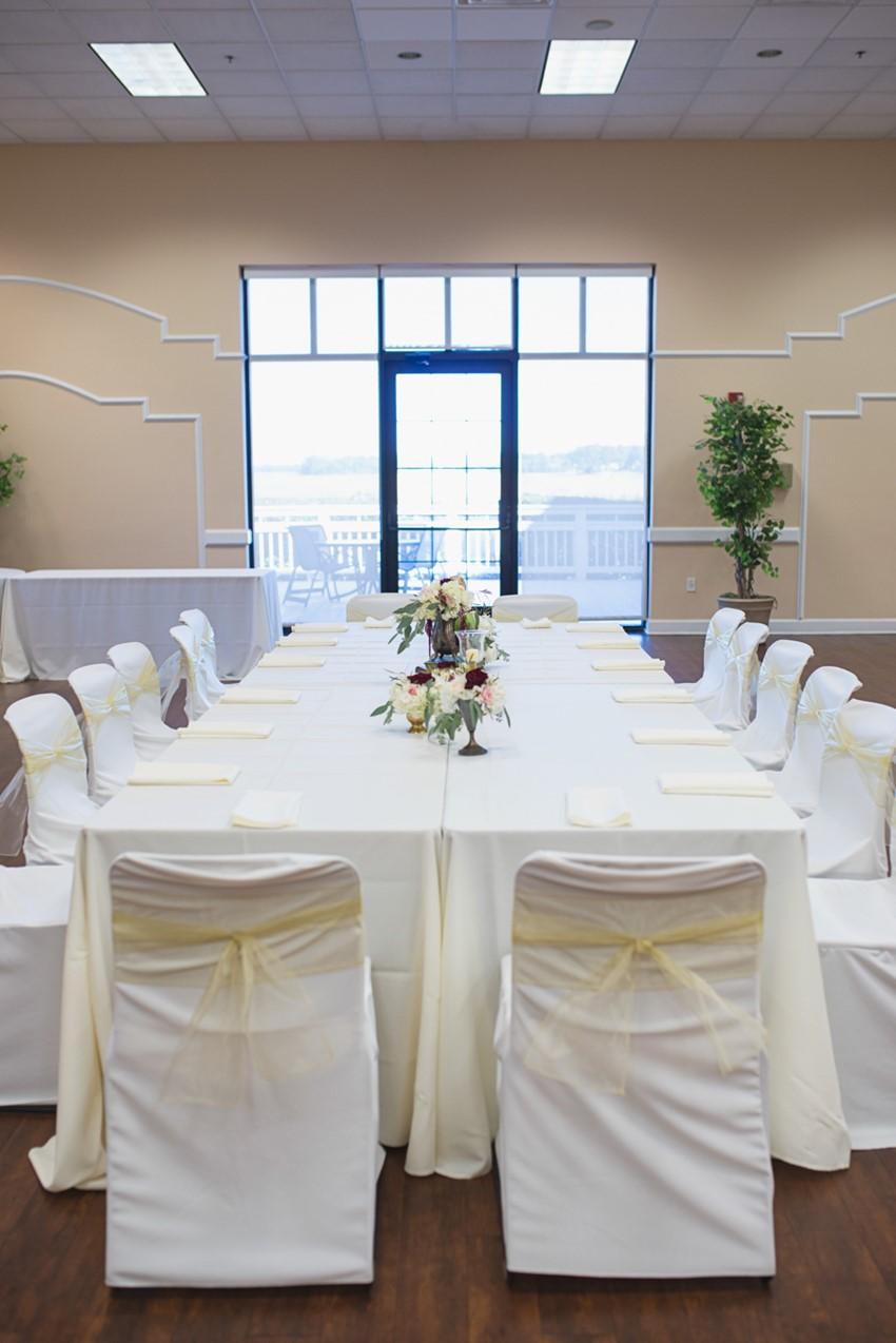 Vintage Inspired Wedding Reception
