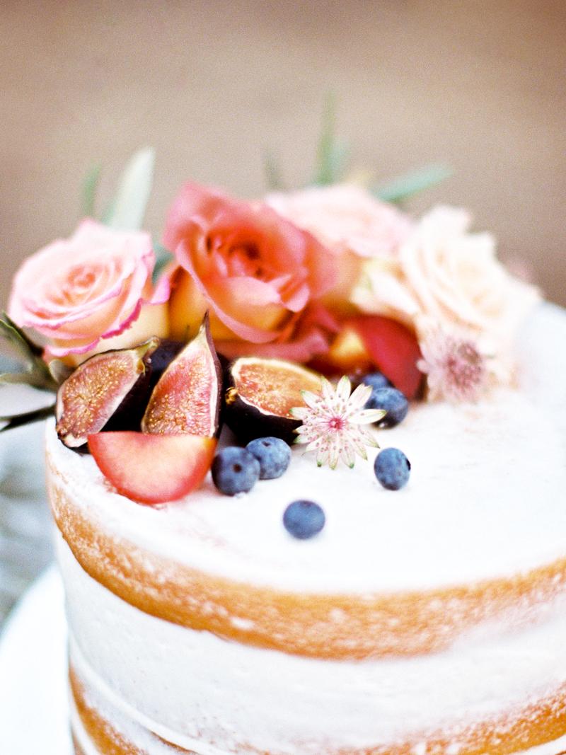 Lush Summer Wedding Cake
