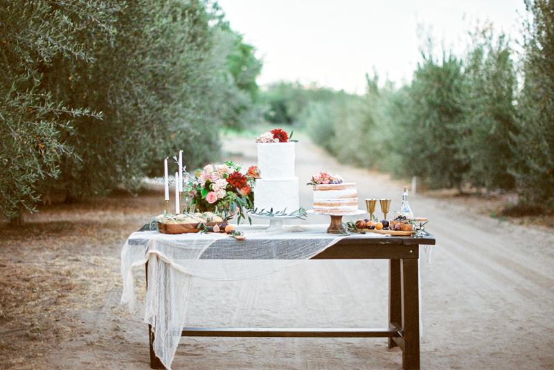Lush Summer Wedding Dessert Table