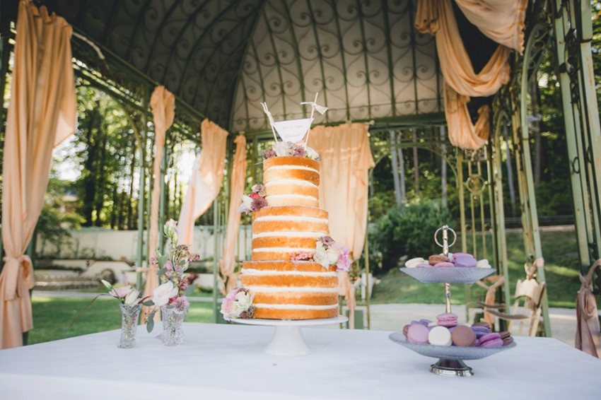 Romantic Vintage Wedding Dessert Table