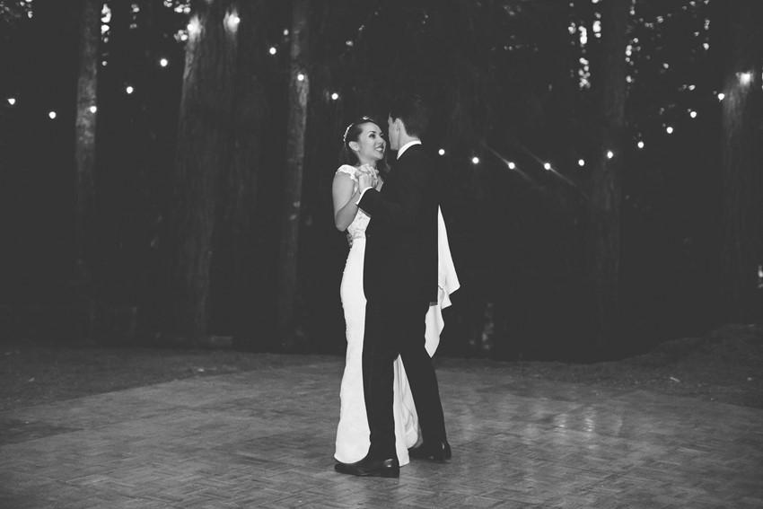 Woodland Wedding First Dance