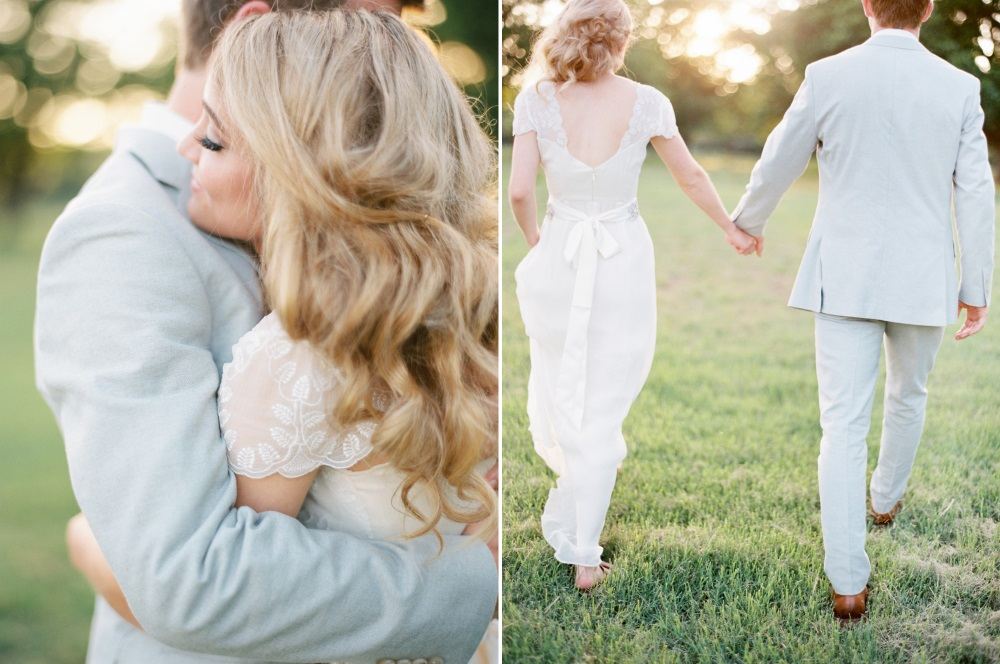Romantic Summer Wedding Photo