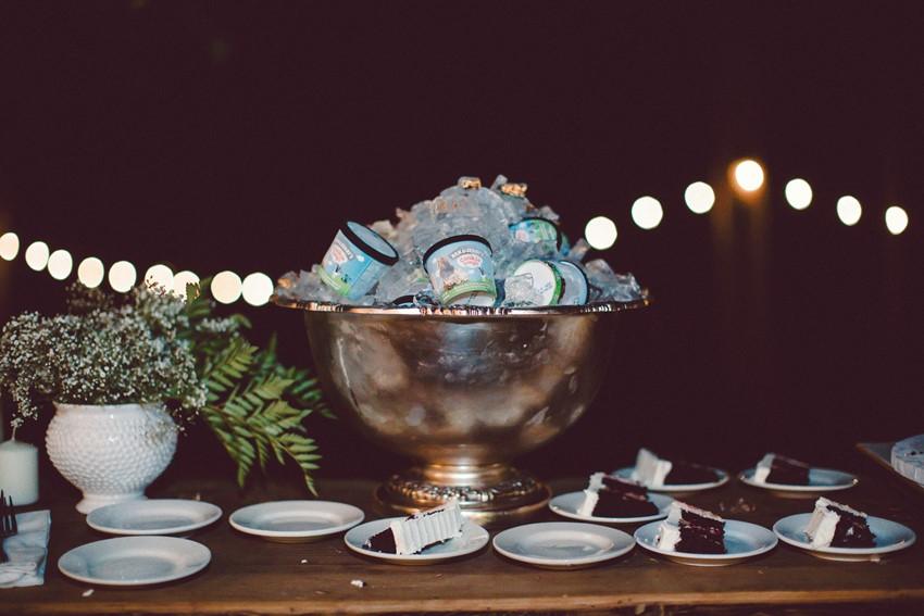Wedding Cake & Ice Cream