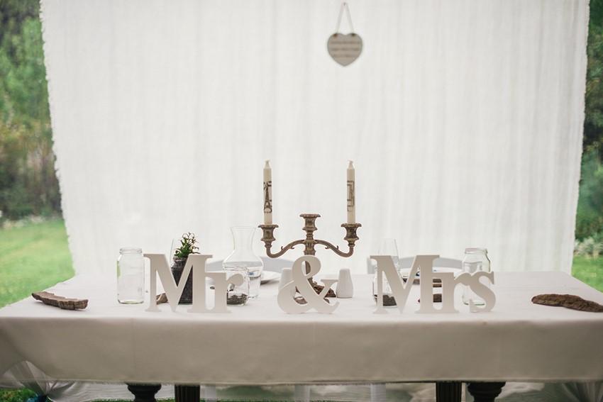Marquee Wedding Reception Decor
