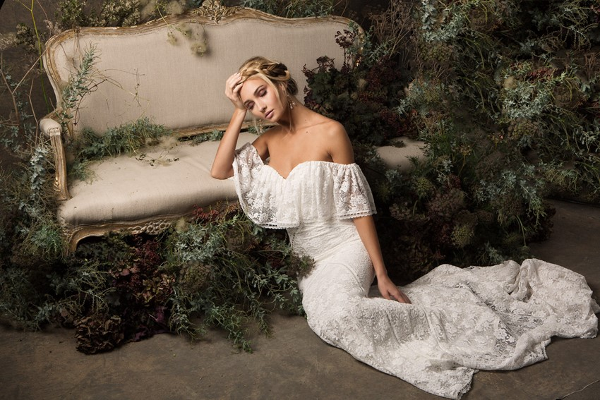 Boho Wedding Dresses from Dreamers & Lovers