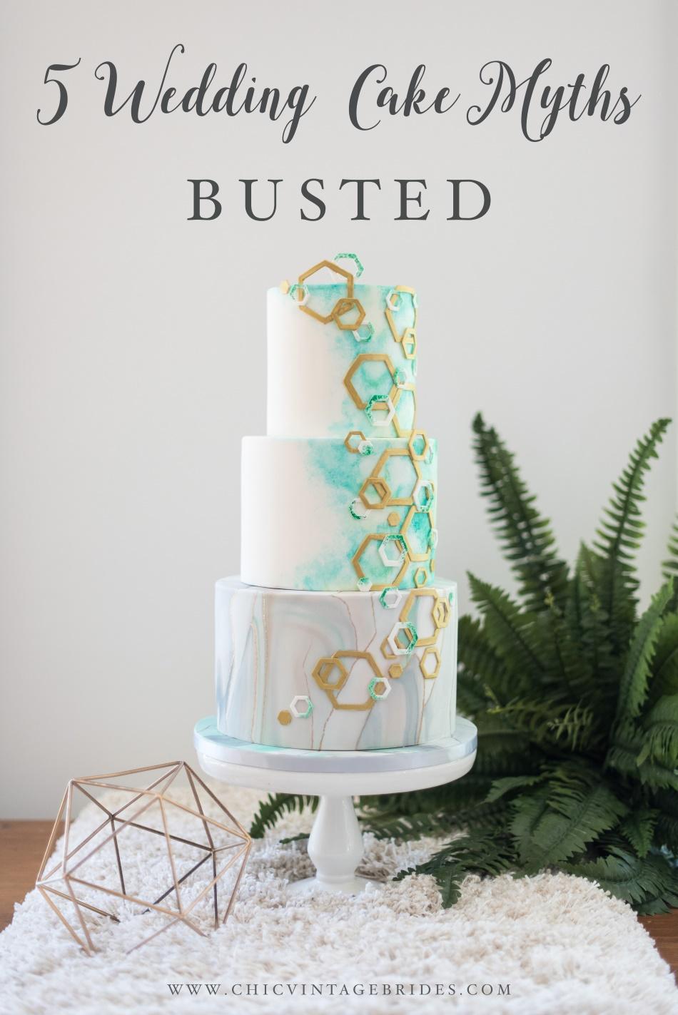 5 Wedding Cake Myths Busted
