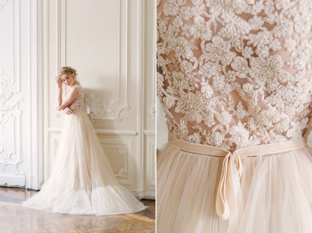 Fairy Tale Spring Wedding Dress