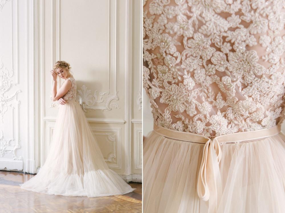 Fairy Tale Spring Wedding Dress