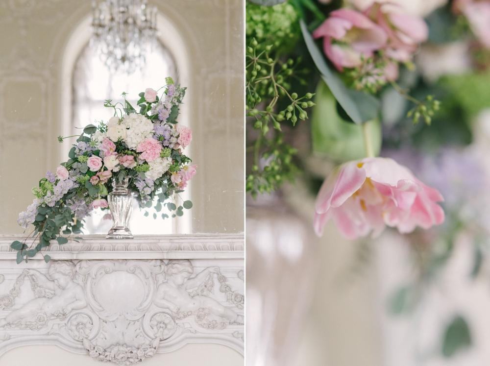 Spring Floral Wedding Centerpiece