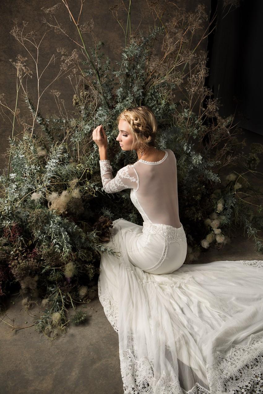 Long Sleeve Wedding Dress from Dreamers & Lovers