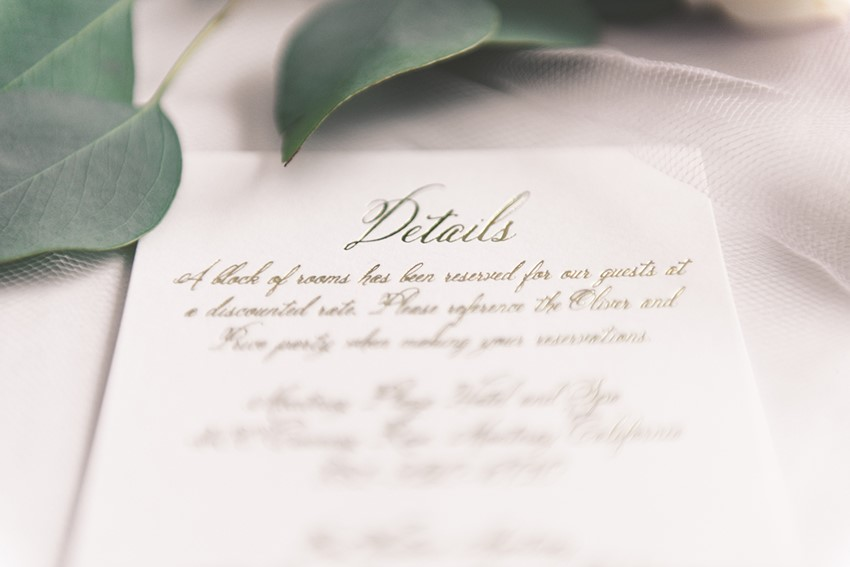 Beautiful Invitations from Wedding Paper Divas Introducing Their