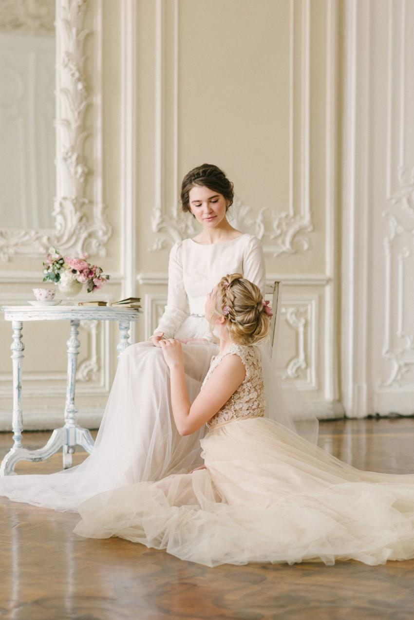 Romantic Spring Bridal Shoot