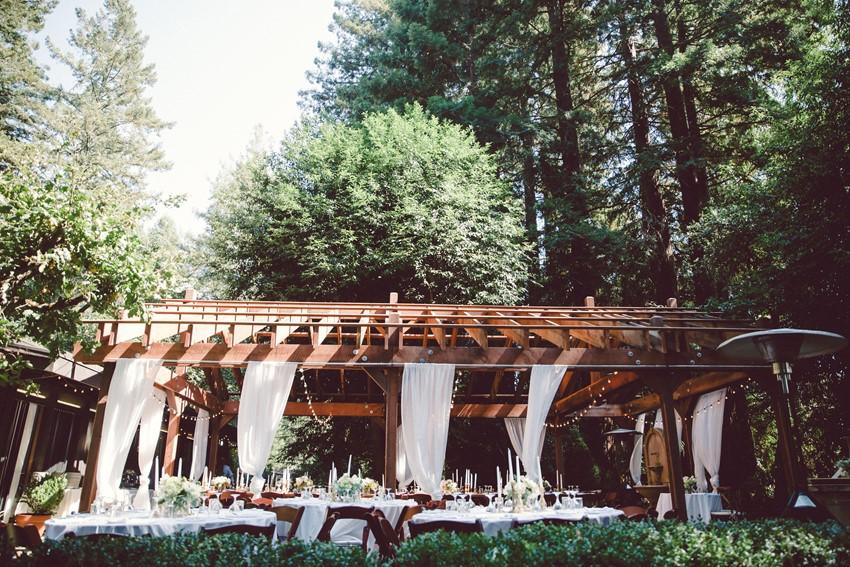 Woodland Wedding Reception