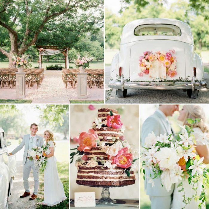 A Dreamy Summer Orchard Wedding