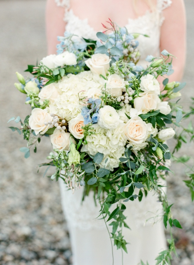 Aquamarine Bridal Bouquet