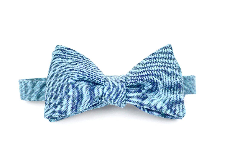 Aquamarine Bowtie