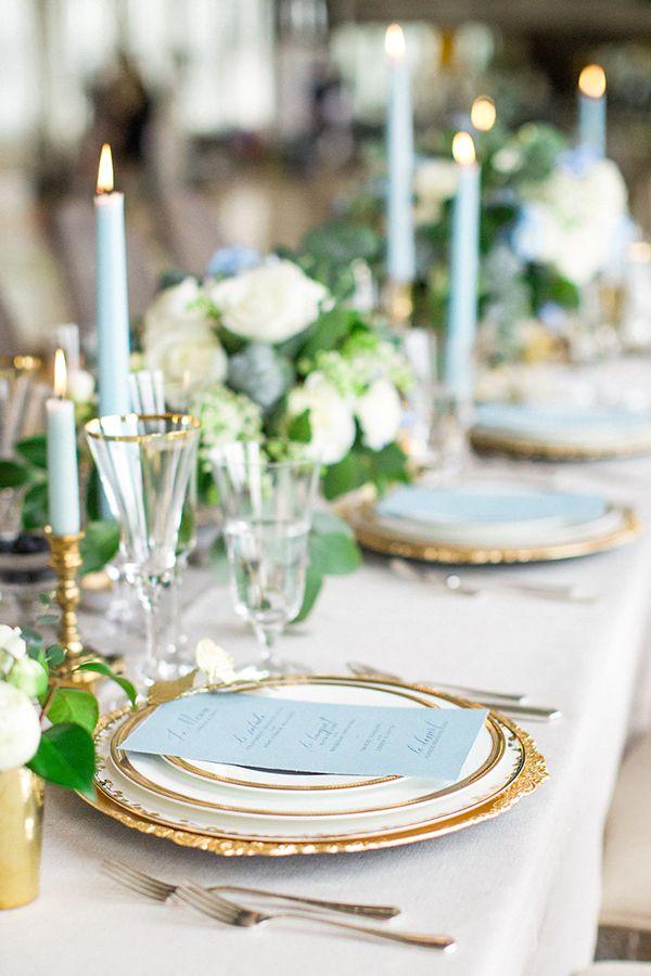 Wedding Candles & Menus