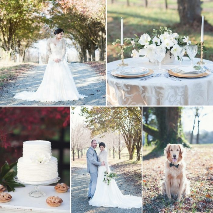 Timelessly Elegant Fall Wedding Inspiration