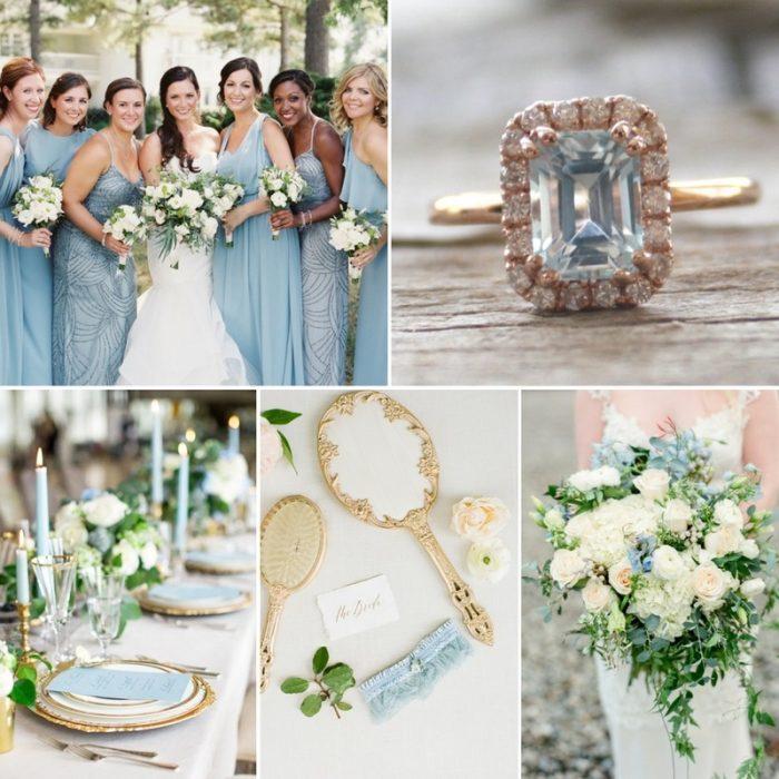 Beautiful Aquamarine Wedding Ideas
