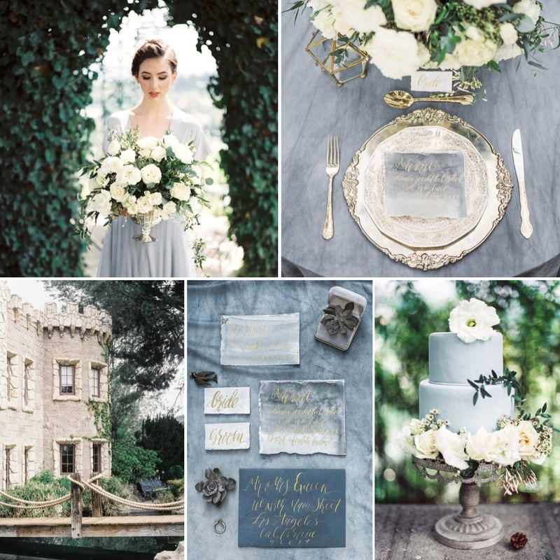 Olde World Castle Wedding Inspiration
