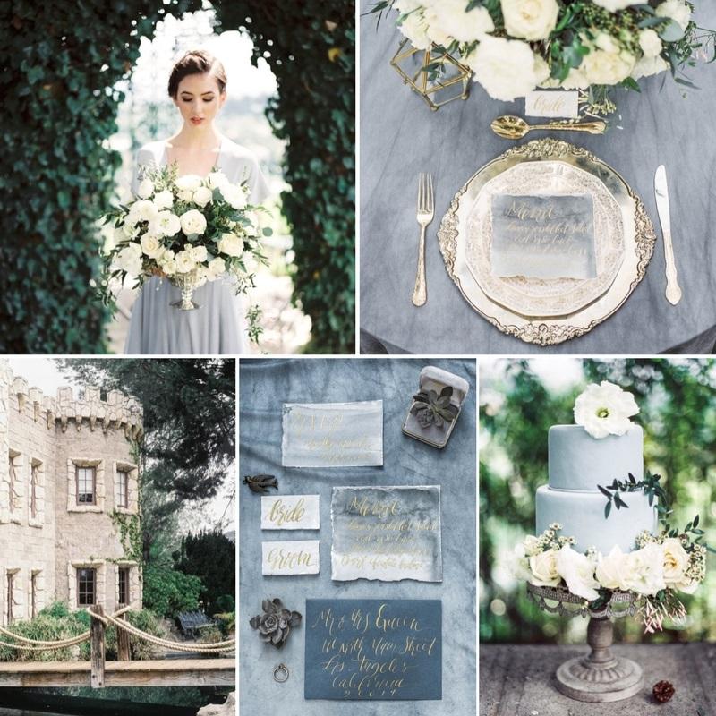 Olde World Castle Wedding Inspiration