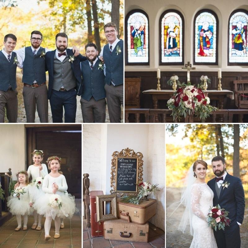 A Classically Romantic Fall Wedding in a Historic Church