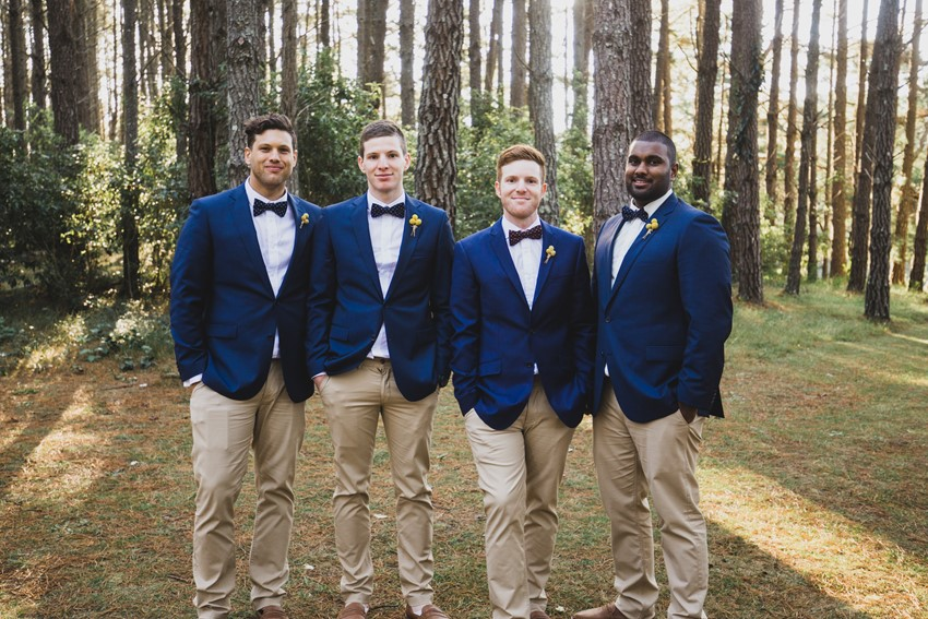 Suit Separates for a Casual Groom's Look