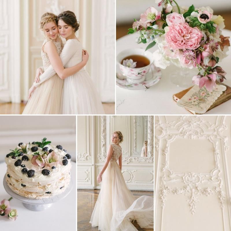Romantic Russian Spring Bridal Shoot