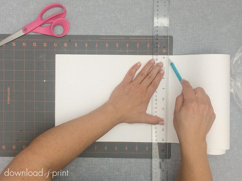 Vintage Handkerchief Wedding Invitation DIY with Download & Print