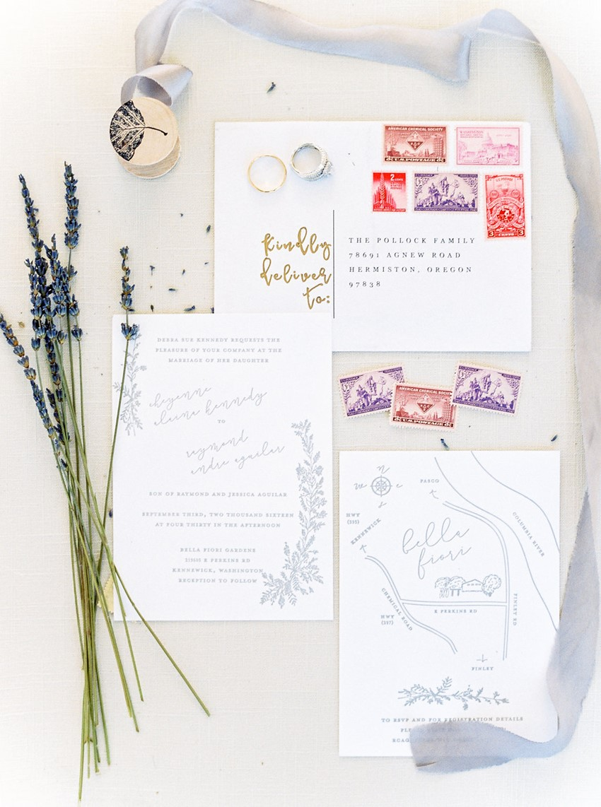 Romantic Garden Wedding Invitation