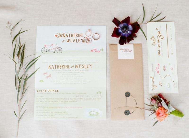 Rustic Vintage Wedding Stationery