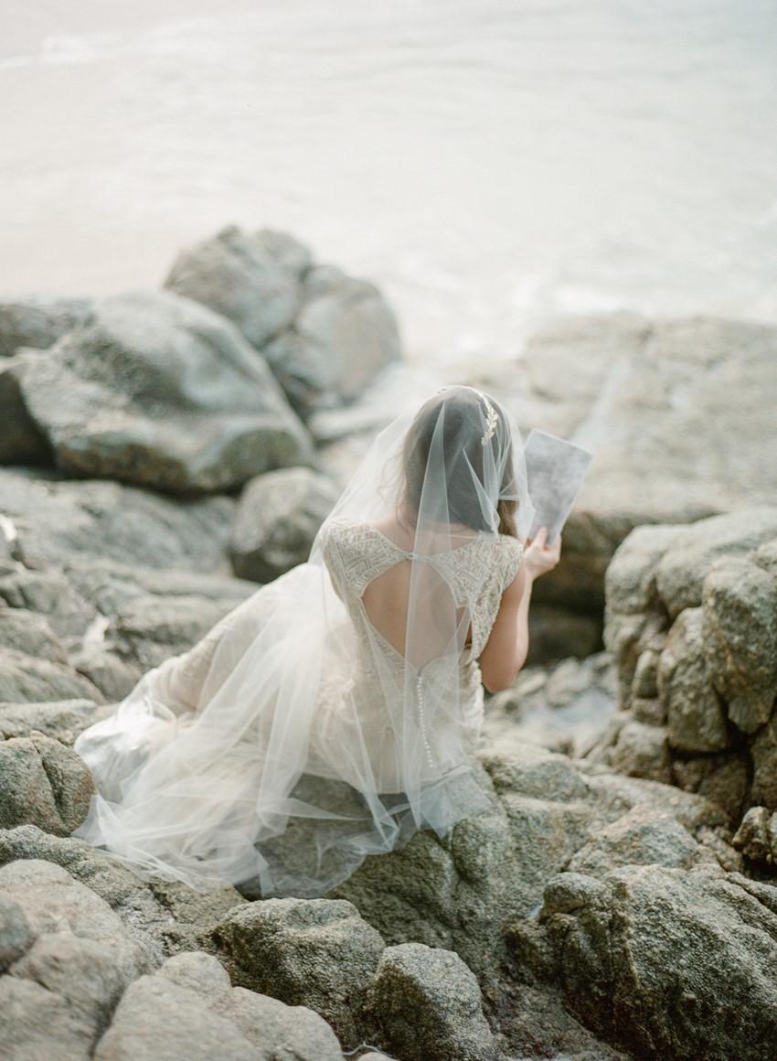 Vintage Beach Bride